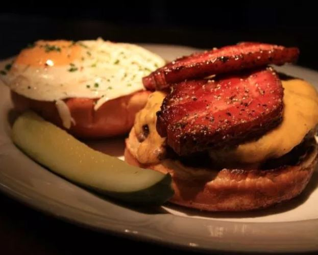 Au Cheval, one of the best restaurants in Chicago. Also known to have one of the best burgers in the country