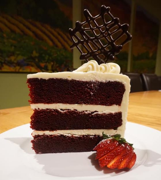 Cake at Napa River Grill Restaurant in Louisville