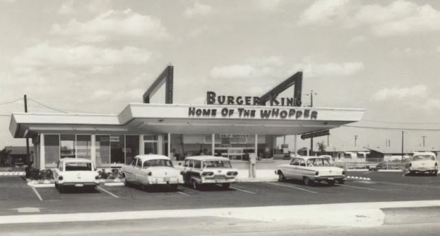 First Burger King location