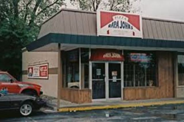 Original Papa John's location in Jeffersonville, Indiana